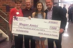 2017 Scholarship Recipient Megan Amici