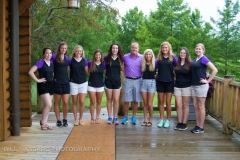 2016 Scholarship Recipients at the Golf Event