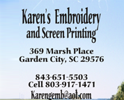 Karen's Embroidery and Screen Printing